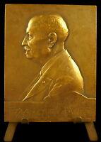 Medalla François de elevación Hombre politique la ciudad Paris sc Baudichon