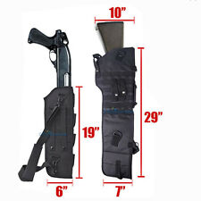 "29"" Outdoor Tactical Scabbard Sheath Over Shoulder Sling Padded Case For Hunting"