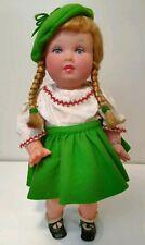 French Celluloid Plastic Doll Pigtails Antique Gina Nano Paris France Vintage
