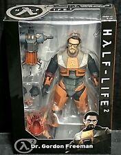 "Half Life 2 Dr GORDON FREEMAN 7"" Figure New! (Valve/Black Mesa/Neca)"