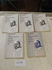 5 NATIONAL ASSOCIATION OF WATCH AND CLOCK COLLECTORS BULLETINS  1976