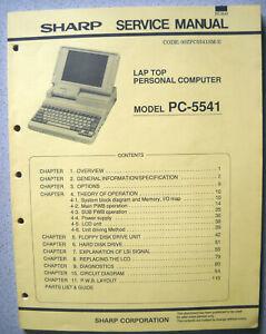 SHARP PC-5541 Service Manual