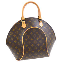 LOUIS VUITTON ELLIPSE MM HAND TOTE BAG MONOGRAM CANVAS M51126 AS1918 36644