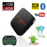 GTMEDIA 4K Android Box G1 Smart TV Box Quad Core 2.4G WiFi 3D Home Media Player