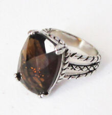 Premier Designs Jewelry Cornerstone Ring in Antiqued Silver RV$49 Size 6