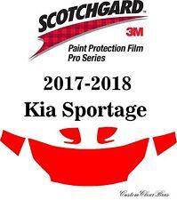3M Scotchgard Paint Protection Film Pro Series Clear Fits 2017 2018 Kia Sportage