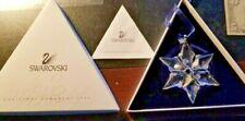 Swarovski 2000 Crystal Star Christmas Ornament with Box