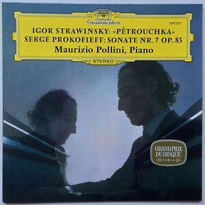 MAURIZIO POLLINI STRAVINKSY / PROKOFIEFF Petrouchka / Sonata Nr. 7 DGG EX/EX