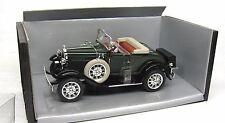 "Motor City Classics ~ 1931 Ford Model ""A""  ~ Dark Green -1:18 ~ Diecast"