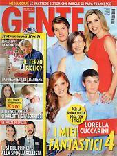 Gente 2015 24.Lorella Cuccarini,Benicio Del Toro,Charlotte Casiraghi,Stash