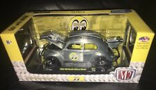 M2 MACHINES 1:24 RAW CHASE 1952 VW BEETLE BUG DELUXE USA MODEL MOONEYES  168