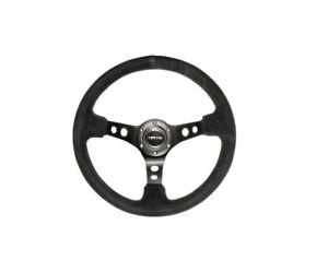 Datsun 240Z 260Z 280Z 70-78  Sport Steering Wheel 350mm Black Suede  712