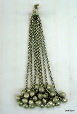 necklace pendant mango beads vintage antique tribal old silver