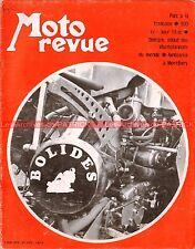 MOTO REVUE 1978 HONDA CB 300 77 ; KAWASAKI 90 Avenger ; BMW R60 R 60 1970