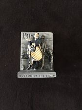 Norman Rockwell Pewter Bottom Of The Sixth Rare
