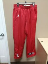 New Adidas Louisville Shocklite Fleeece Basketball Pant SZ Large