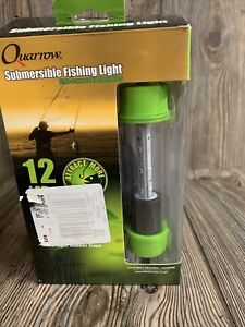 Quarrow Submersible Fishing bait attract Light 12 LED 12 Volt powered 15ft cable