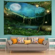 Wall Hanging Fairy Forest Tapestry Decorative Wall Hanging Tapestry Home Decor