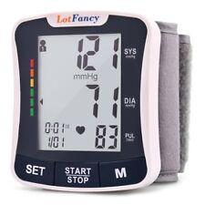 Auto Digital High Wrist Blood Pressure Monitor BP Cuff Machine Gauge Sensor Kit