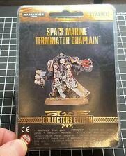 OOP RARE Space Marines Terminator Chaplain Limited Collectors Edition BNIB
