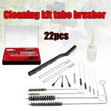 22Pcs Universal Gun Cleaning Kit Rifle Pistol Handgun Shotgun Firearm Cleaner