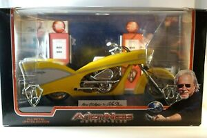 Arlen Ness Motorcycles Ness-Stalgia Yellow Cycle MINT
