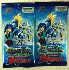 2X Cardfight Vanguard Descent of King of Knights Booster Pack ENGLISH  5-cd/pk