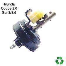 Hyundai Coupe 2.0 •02-2007• Brake Master Cylinder & Servo *Gen3/3.5* (FREE P&P)