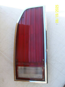 1985 1987 LTD CROWN VICTORIA COUNTRY SQUIRE WAGON LEFT TAILLIGHT BRAKE TURN USED