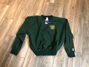 Nwt's 1990's Champion Green Bay Packers Pullover Jacket Men's 2xl