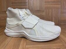 RARE🔥 Puma Fenty By Rihanna Hi Top Sneakers Sz 13 Ivory Leather Trainers Men's