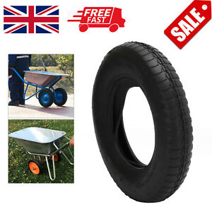 1x Wheelbarrow Wheel Inner Tube and Barrow Tyre 3.50x8 With Innertubes 3.50-8