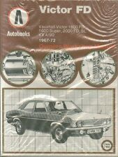 VAUXHALL VICTOR FD 1600 2000 VX4/90 SALOON ESTATE 1967 - 1972 REPAIR MANUAL NEW
