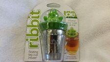Ribbit Frog Floating Stainless Steel Tea Cup Infuser Loose Leaf Strainer MS