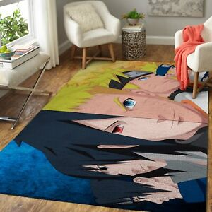 Naruto vs Sasuke 190922 Carpet Living Room Rugs