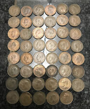 More details for 47 x 1950 farthing - coin - king george vi - great britain