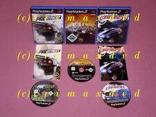 3x PS2 _ Need For Speed ProStreet & NFS Carbon & NFS Underground _ Erstausgaben