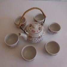 Service à thé céramique grès art nouveau déco design XXe PN France