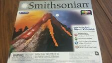 Smithsonian Glow in the Dark Giant Volcano 14 inches Earth Science Educational