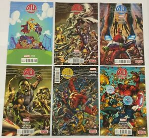 Age of Ultron Complete 10 Issue Avengers Mini-Series 1 Skottie Young Variant
