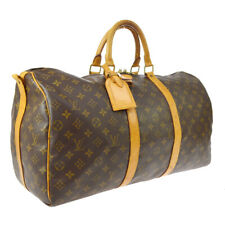 LOUIS VUITTON KEEPALL 50 BANDOULIERE TRAVEL BAG MONOGRAM ce M41416 TH0957 A52305