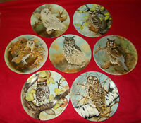 COALPORT BIRD PLATES FROM THE WISE OWL SERIES  - SELECT PLATE