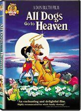 All Dogs Go to Heaven DVD 2003 1989 Film Animated Burt Reynolds