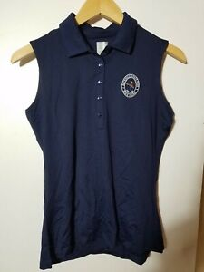 1 NWT CALLAWAY WOMEN'S S/L POLO, SIZE: SMALL, COLOR: NAVY (J81)