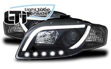 Fari Anteriori Dayline Daylight LTI CCFL Light Tube Audi A4 B7 04->08 Neri