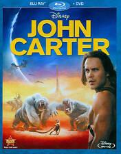 John Carter Blu-ray/Dvd New Disney