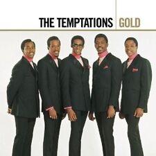 "THE TEMPTATIONS ""GOLD"" 2 CD NEU"