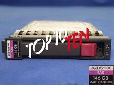 HP 418399-001 ProLiant G1-G7 146GB 2,5'' 10K SAS 3G DP HDD 418367-B21 Disco duro