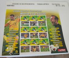 2006 Socceroos Squad for World Cup MUH sheet stamps