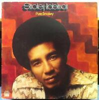 SMOKEY ROBINSON pure smokey LP VG+ T 331V1 Stereo USA Tamla 1974 Soul